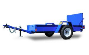 Model #4x7T: Trencher Trailer