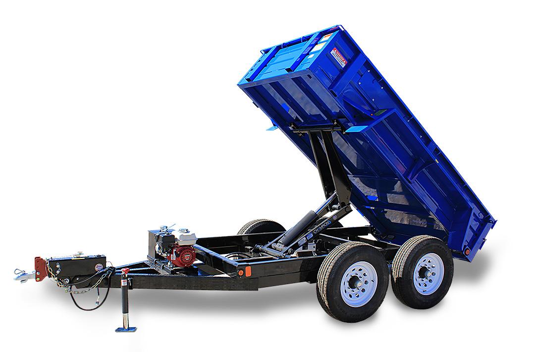 Dump Trailer: Model #DB5x10