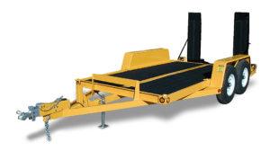 Model #EQ80x14: Equipment Trailer w/Rumber